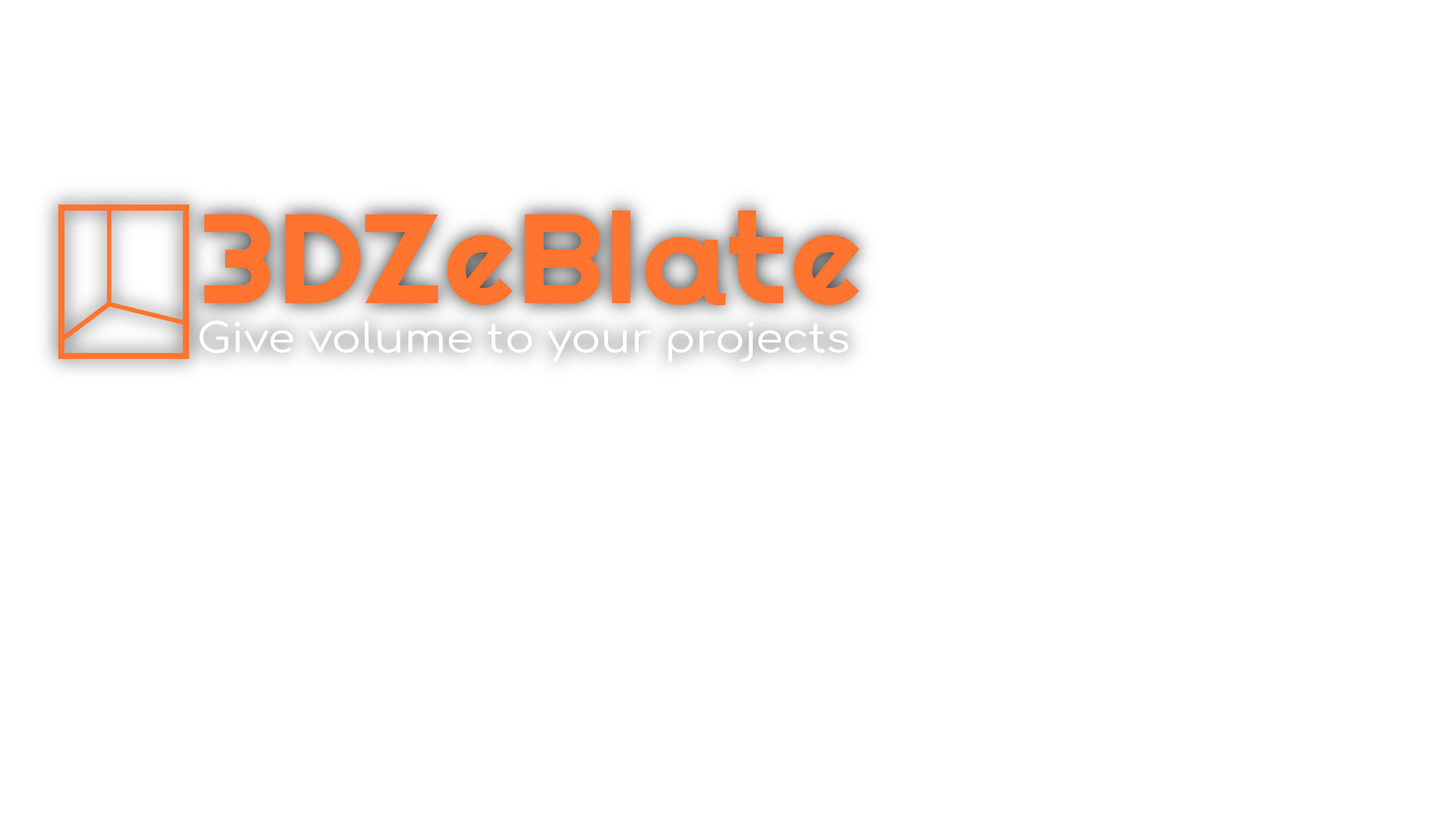3DZeBlate  guide you in your 3D projects,  from your initial idea to the final product:  3D modeling, 3D rendering and 3D printing.