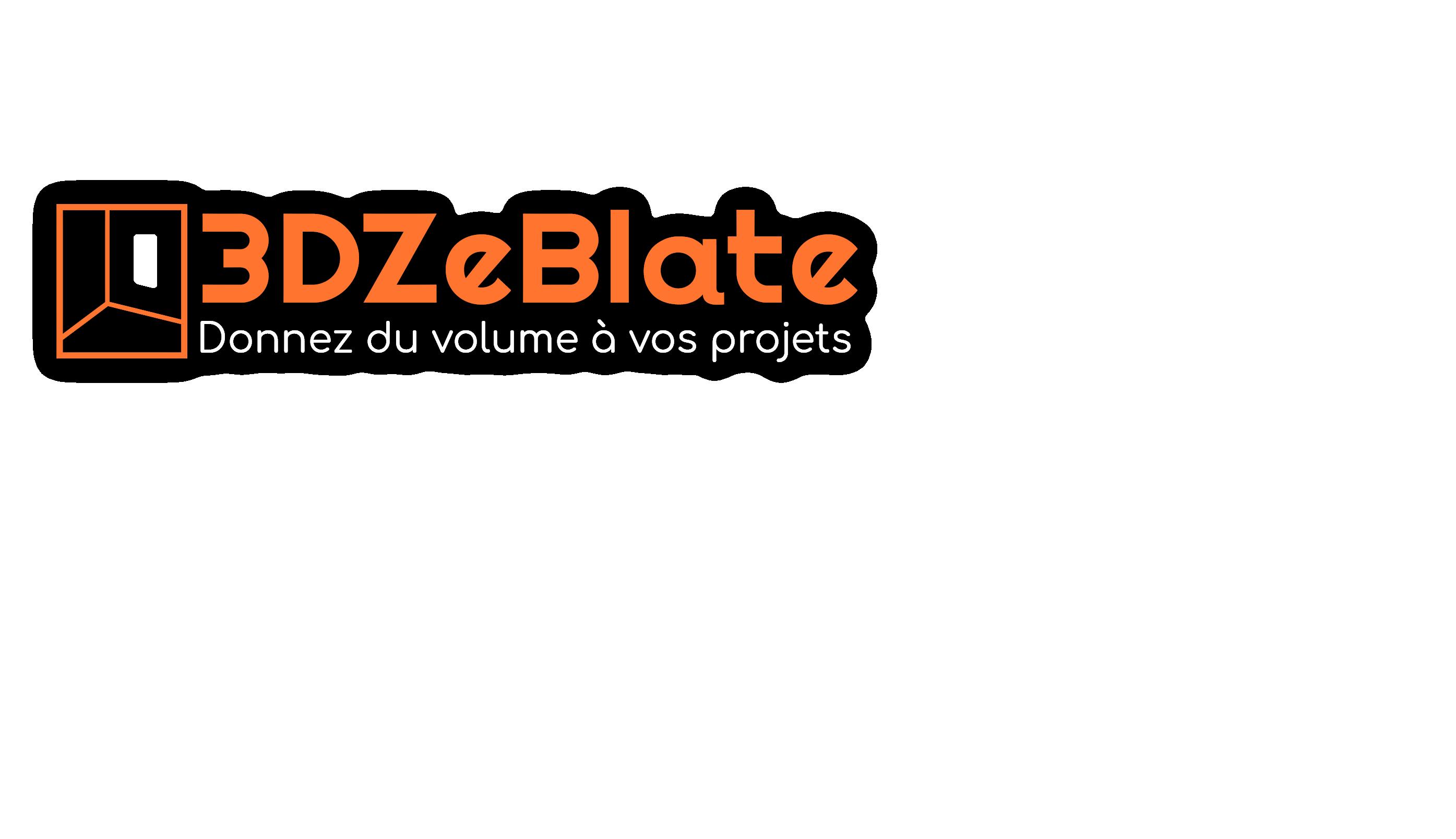 3DZeBlate vous accompagne dans vos projets 3D,  depuis votre idée de départ jusqu'au produit final : Modélisation 3D, rendu 3D et impression 3D.